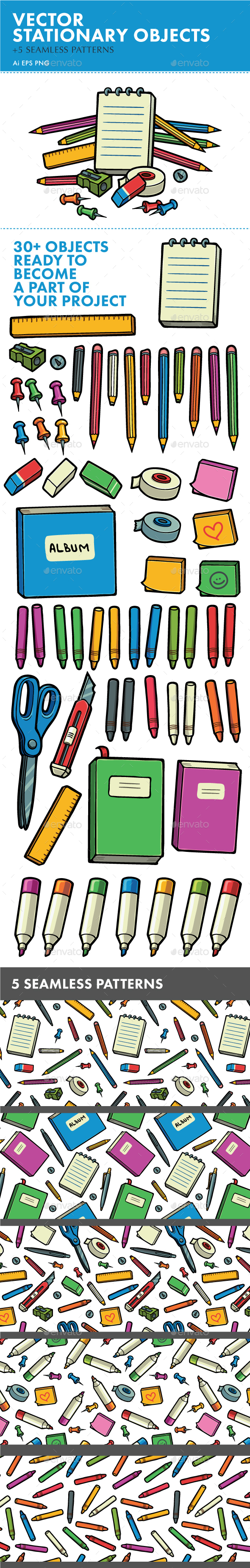 GraphicRiver Stationary Objects 20574919