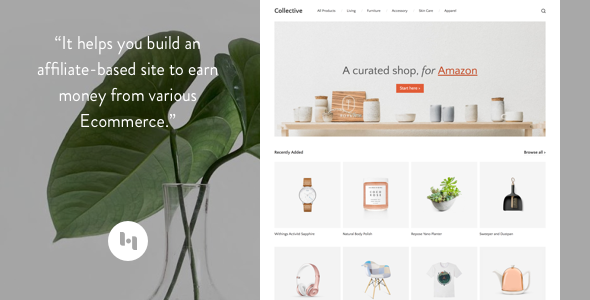 Collective: Theme to Create an Affiliate-Based Site - Blogger Blogging