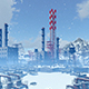 Industrial Complex Among Mountains - VideoHive Item for Sale