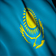 Kazakhstan Flag - VideoHive Item for Sale