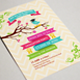 Graduation Party Invitation Card - GraphicRiver Item for Sale