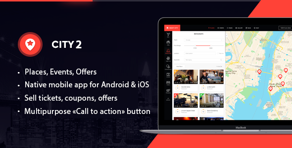 City2 - Multipurpose Directory WordPress theme