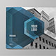 Modern Blue Architecture Brochure - GraphicRiver Item for Sale