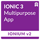 Ionium 2 - Ionic Multipurpose App using Ionic 3
