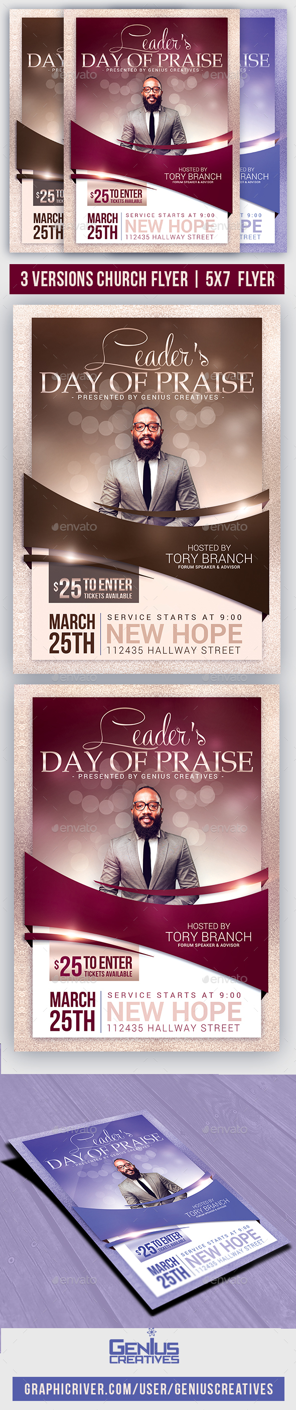 Church Event or Conference Flyer - Church Flyers