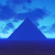 Egyptian Pyramids at Night - VideoHive Item for Sale