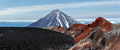 Panoramic view on Crater Active Avacha Volcano on Kamchatka Peninsula - PhotoDune Item for Sale