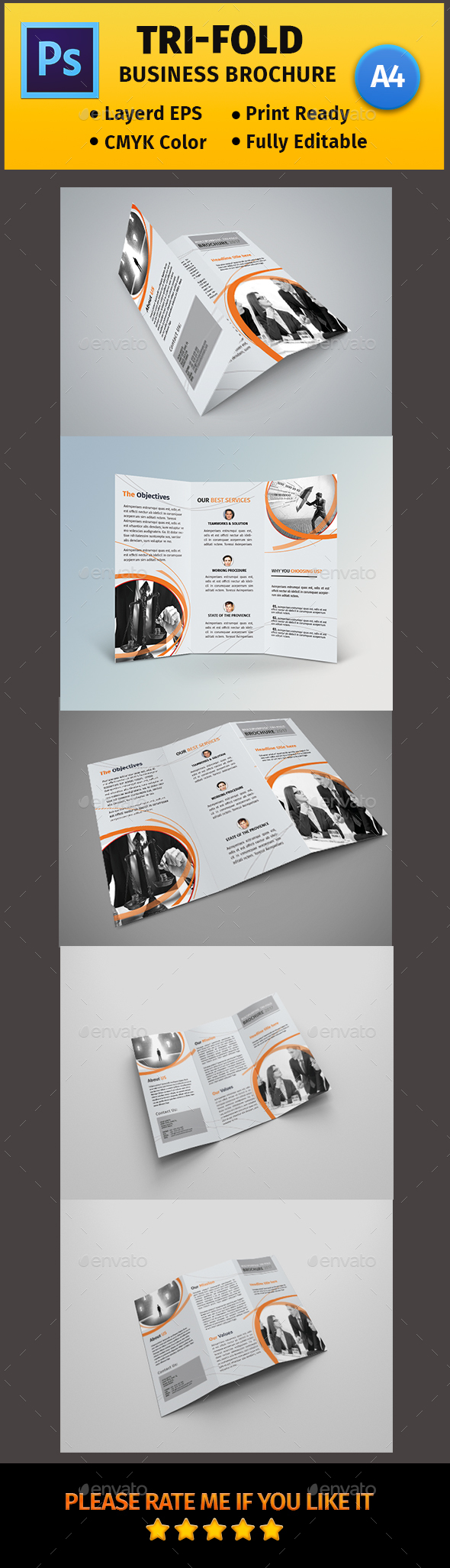 A4 Corporate Business Flyer #05 - Corporate Brochures