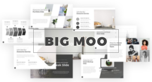 BigMoo Creative Presentation Template