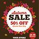 Autumn Sale Flyer