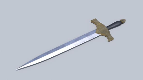 Medieval Sword 2 - 3DOcean Item for Sale
