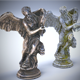 Sculptures Pack Vol.1 Statue 2 - 3DOcean Item for Sale