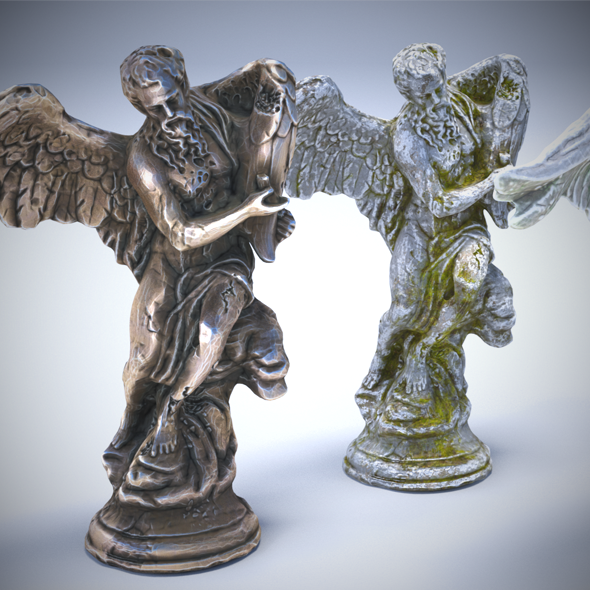 3DOcean Sculptures Pack Vol.1 Statue 2 20578171