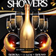 Champagne Showers Flyer - GraphicRiver Item for Sale