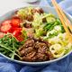 Salad with beef teriyaki and fresh vegetables  - PhotoDune Item for Sale