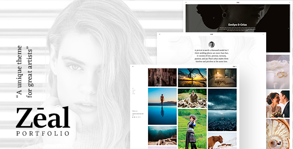 Zeal - Responsive and Creative Portfolio & Blogging WordPress Theme - Portfolio Creative
