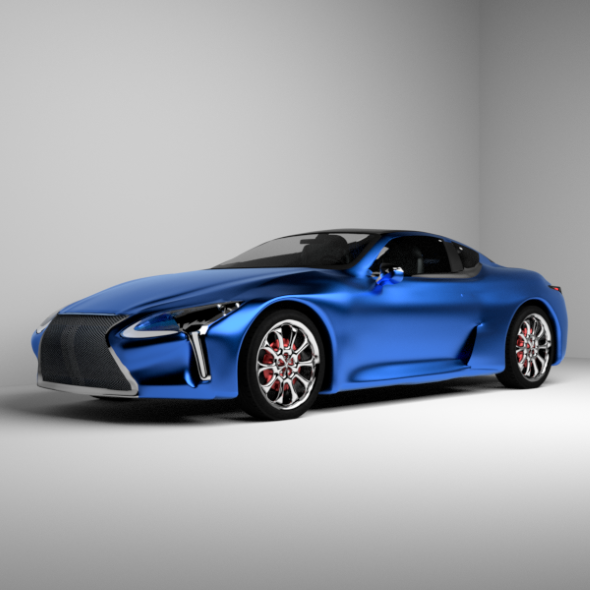 Lexus LC500 - 3DOcean Item for Sale