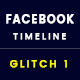 Facebook Covers - Glitch Cover - GraphicRiver Item for Sale