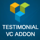 Testimonials Showcase for Visual Composer add on