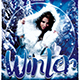 Winter Solstice Flyer Template