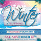 Winter Season Flyer Template V3 - GraphicRiver Item for Sale