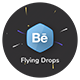 Flying Drops Logo - VideoHive Item for Sale