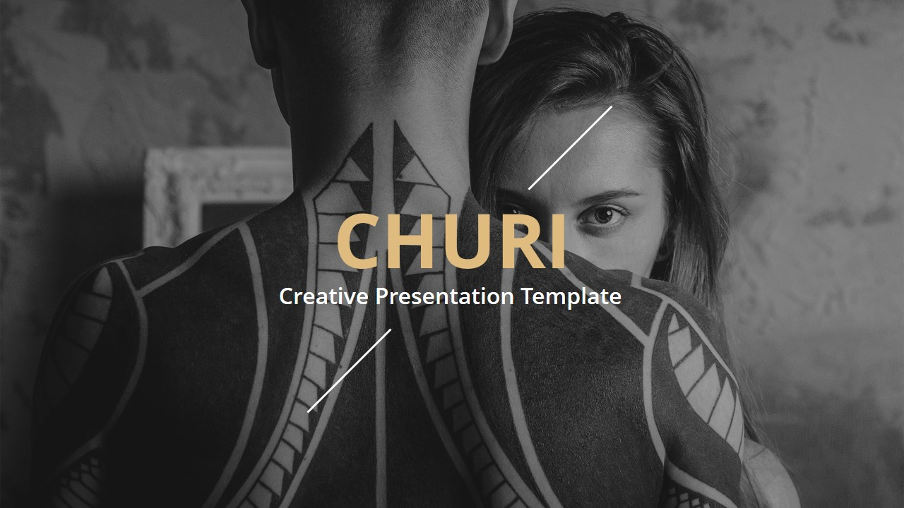Churi Creative Keynote Template