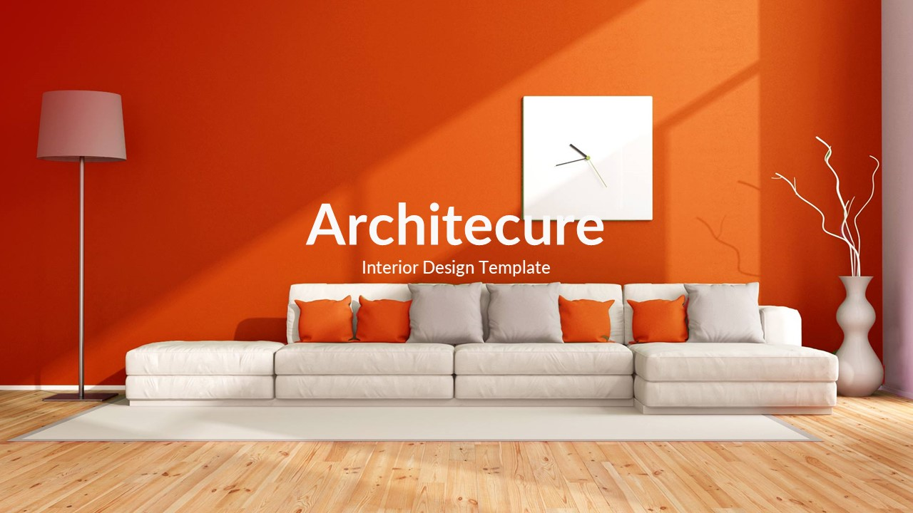 Architecture and interior design powerpoint template by - Interior design presentation templates ...