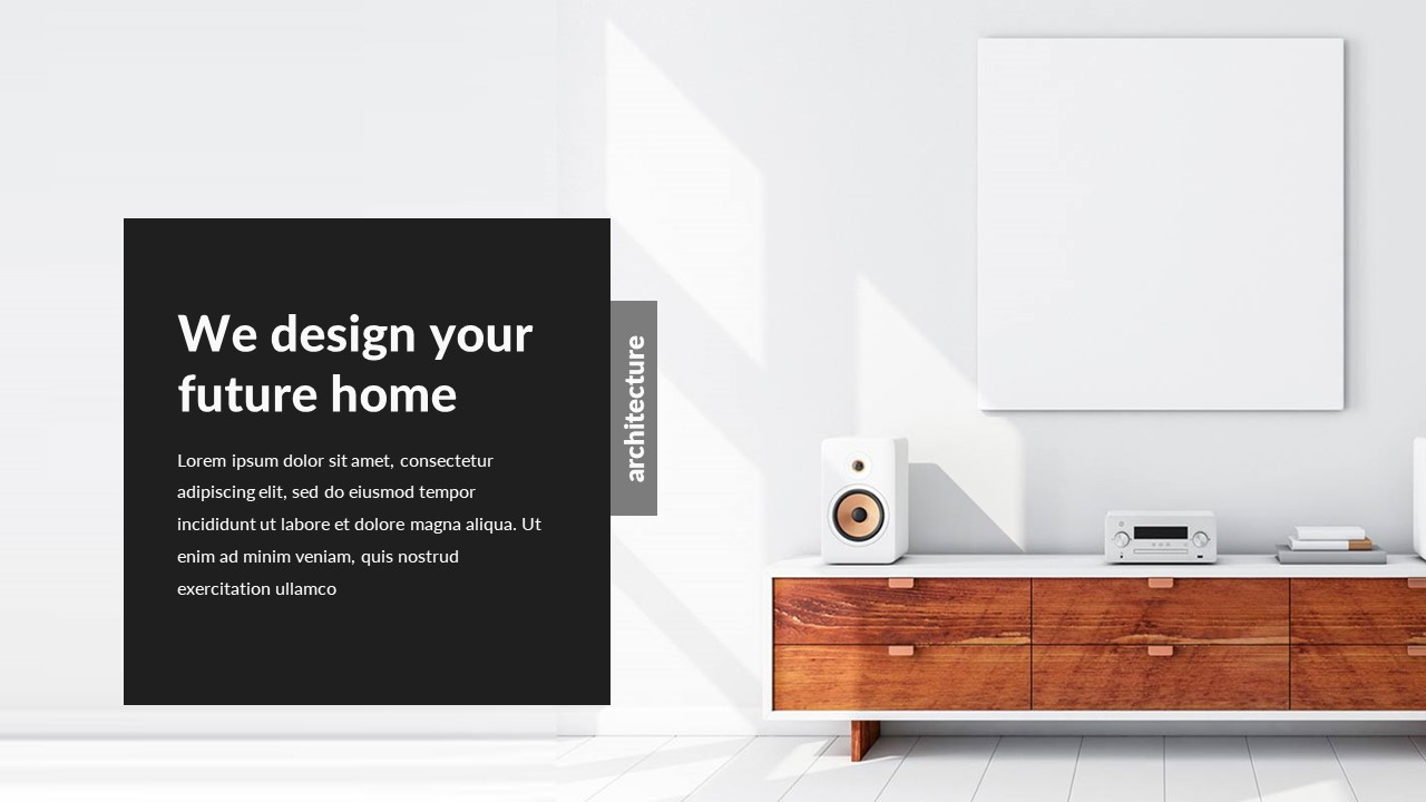 Architecture and interior design powerpoint template by bypaintdesign architecture and interior design powerpoint template toneelgroepblik Gallery