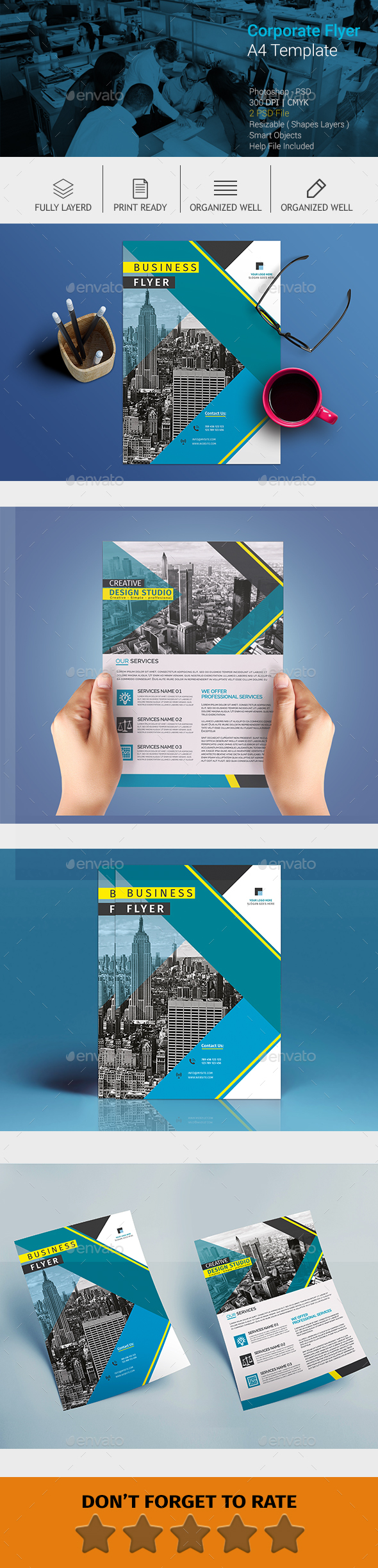 GraphicRiver A4 Corporate Business flyer #9 20579337
