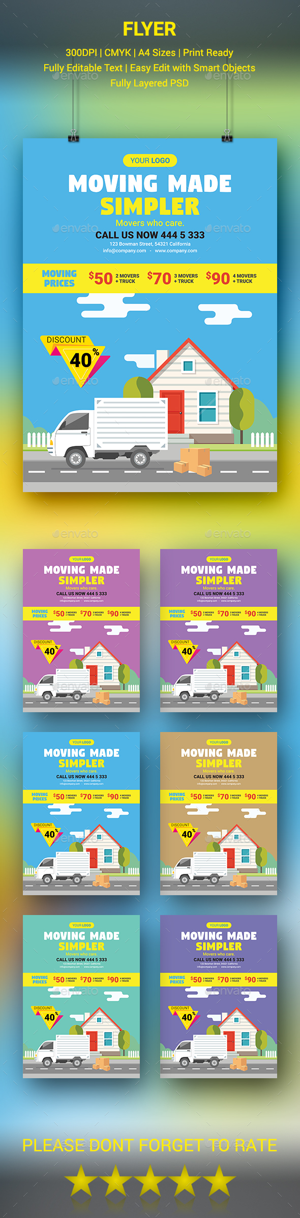 GraphicRiver Moving House Flyer 20579644
