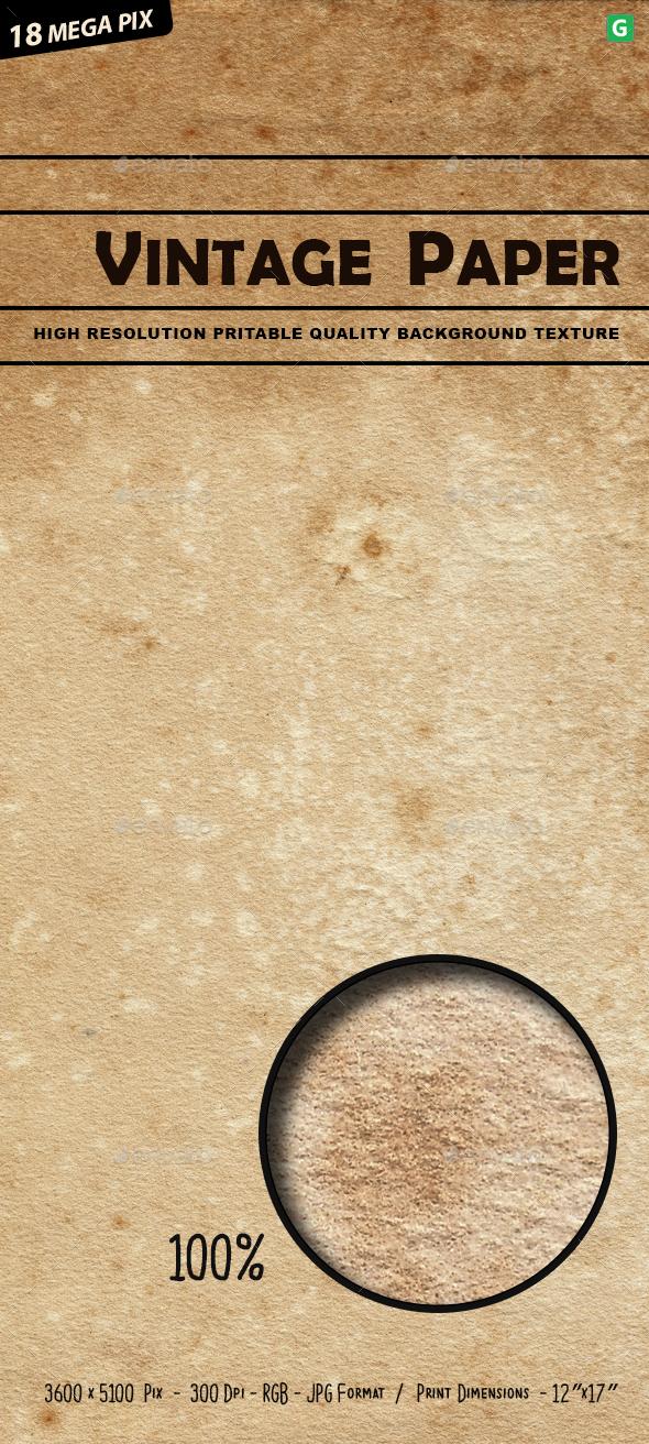 GraphicRiver Vintage Paper Texture 317 20579671