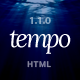 Tempo - Multipurpose Responsive Bootstrap Website Template