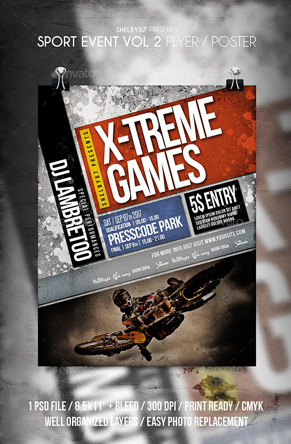 Sport Event Flyer / Poster Vol 2 - Sports Events