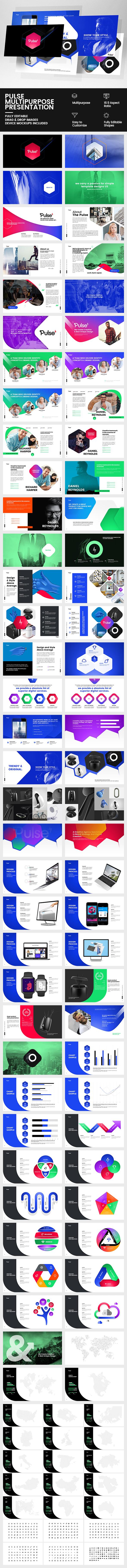 GraphicRiver Pulse Multipurpose Presentation 20580861