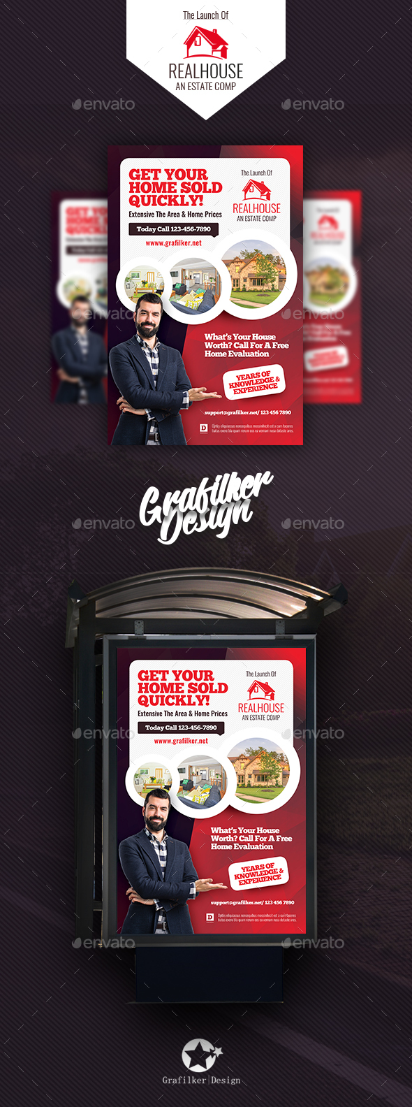 GraphicRiver Real Estate Poster Templates 20580874