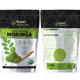 Moringa Powder Bag Packaging Template vol 1