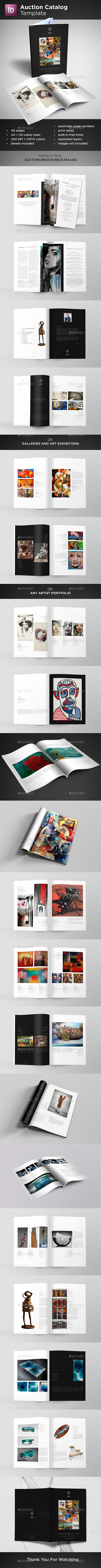 GraphicRiver Auction Catalog Template 20581007