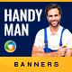 Handyman Service Banners
