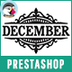 December - Shopping Clothes & Handbags Responsive Prestashop Theme