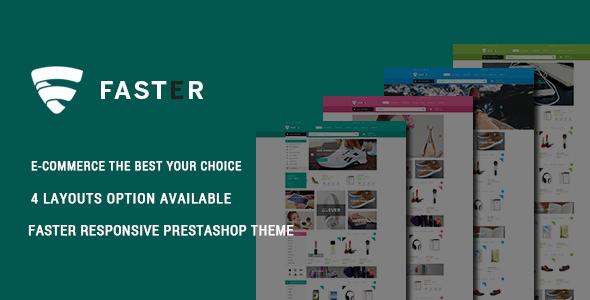 Faster - Shopping Responsive Prestashop Theme - Shopping PrestaShop