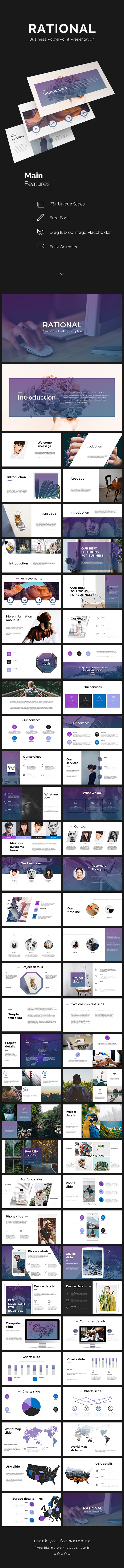 Rational PowerPoint Presentation - PowerPoint Templates Presentation Templates