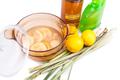 Apple cider vinegar, lemon,  lemongrass effective insect repelle