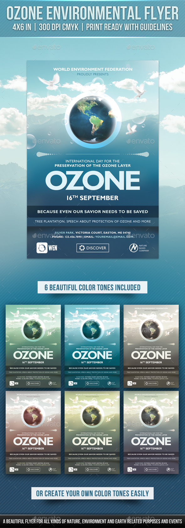 Ozone Environmental Flyer - Miscellaneous Events