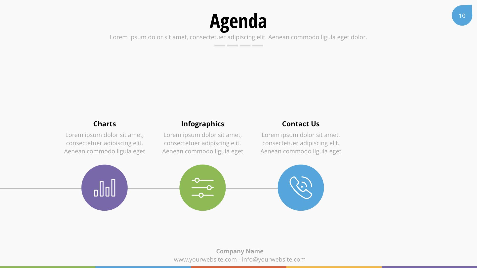 Business Plan Keynote Presentation Template By Spriteit Graphicriver