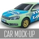 Car MockUp - GraphicRiver Item for Sale