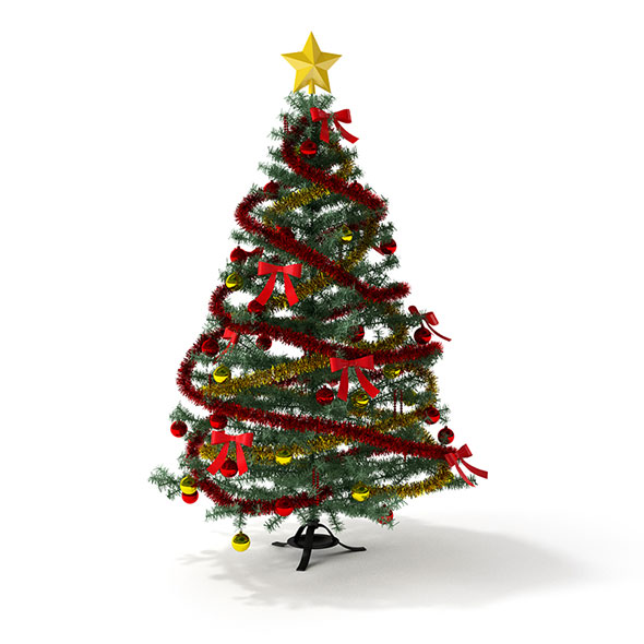 3DOcean Christmas tree 3D model 20582309