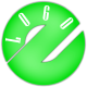 Breakbeat & Glitchy Logo