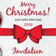 Christmas Invitation Template V4 - GraphicRiver Item for Sale