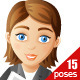 Business Woman Character - GraphicRiver Item for Sale